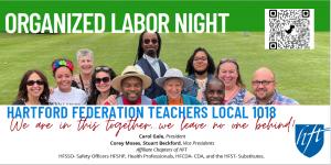 Organized Labor Night Flyer